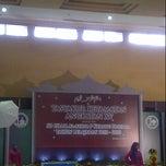 Photo taken at Gedung Aula Pusdiklat MK-RI, Bekasi by Oktiva R. on 6/18/2013