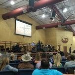 Photo taken at Cowboy Church Of Ellis County by Vivian C. on 3/22/2015