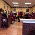 Photo taken at Bristow Barber Shop by Shaun D. on 10/12/2013