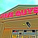 Photo taken at Five Guys by Greensboro, NC on 1/10/2013