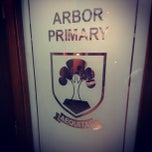 Photo taken at Arbor Primary School by Adrian G. on 9/29/2012