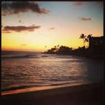 Photo taken at Makaha Beach Park by Lumar G. on 3/2/2013