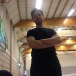 Photo taken at Sporthal Steenberg by Manon V. on 3/11/2015