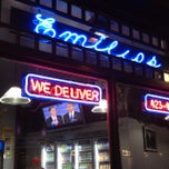 Photo taken at Emilio's Pizza and Sub Shop by Lauren B. on 10/4/2012