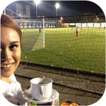 Photo taken at Stadion Persib by Sara J. on 2/22/2014