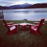 Photo taken at Lake Placid Lodge by William K. on 11/9/2013