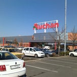 Photo taken at Auchan by Bóna Patrícia on 10/11/2012