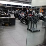 Photo taken at Autohaus BMW by Vhen Rhyan P. on 2/4/2015