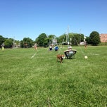 Photo taken at McCullough Field (Laurel) by Mary T. on 5/25/2014