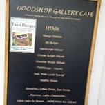 Photo taken at Woodshop Gallery Cafe by Sabrina E. on 6/9/2014