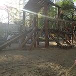 Photo taken at Playground by Gabriela R. on 8/2/2013