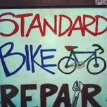 Photo taken at Standard Bike Repair by Colorado Card on 2/7/2013