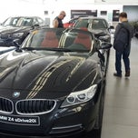 Photo taken at Autohaus BMW by Ad on 4/7/2014