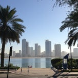 Photo taken at Al Mamzar Park (حديقة الممزر) by Egor V. on 1/2/2013