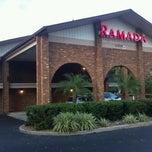 Photo taken at Ramada Inn Tampa by Bobby B. on 10/19/2012