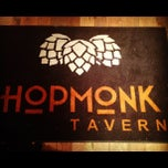 Photo taken at HopMonk Tavern by Shelley C. on 12/7/2012