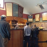 Photo taken at Burlington Bagel Bakery & Cafe by Jake B. on 11/5/2012