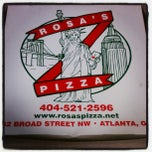 Photo taken at Rosa's Pizza by Jessica R. on 1/15/2013