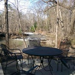 Photo taken at The Woodstock Inn on the Millstream by J H. on 4/19/2014
