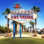 Photo taken at Welcome To Fabulous Las Vegas Sign by Lauren H. on 6/20/2013