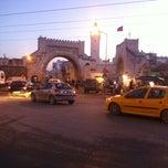 Photo taken at Bab al Khadhra   باب الخضراء by Rabii K. on 12/30/2012