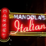 Photo taken at Mandola's Italian Market by Danny A. on 1/13/2013