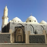 Photo taken at Masjid Abu Bakar, Madinah by diki p. on 1/31/2014