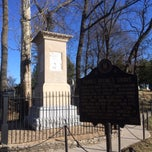Photo taken at Frankfort Cementary by Sandy A. on 12/31/2013