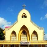 Photo taken at Gereja Katholik Santa Maria by Anton R. on 5/16/2015