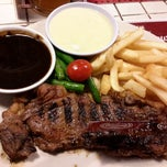 Photo taken at SteakHotel by Holycow! by Grace S. on 3/13/2015