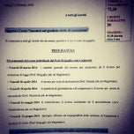 Photo taken at Ordine degli Avvocati di Velleri by SALA AVVOCATI FRASCATI on 3/21/2014