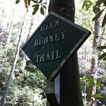 Photo taken at Glen Burney Trail by Patrick F. on 10/13/2012