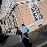 Photo taken at Bródy Sándor Megyei Könyvtár by Bela B. on 10/8/2013