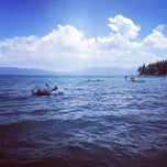 Photo taken at Meeks Bay Resort by Jessica V. on 8/9/2014