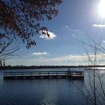 Photo taken at Lake Nokomis Fishing Dock by SemiToxic on 11/18/2013