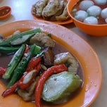 Photo taken at Ipoh Road Yong Tow Foo by Ivan E. on 6/2/2013