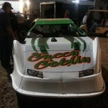 Photo taken at The Dirt Track at Charlotte Motor Speedway by James B. on 11/4/2012