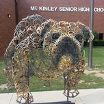 Photo taken at McKinley Senior High School by Michael H. on 8/15/2013