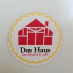 Photo taken at Das Haus Confeitaria Alemã by Marcelo U. on 8/8/2013