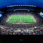 Photo taken at Gillette Stadium by Otso L. on 1/13/2013