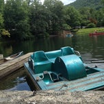 Photo taken at Montreat Boat Dock by Heather S. on 8/2/2013