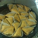 Photo taken at Nazareth Restaurant & Deli by Benjamin E. on 10/16/2012