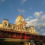 Photo taken at Walt Disney World Railroad - Main Street Station by Kirk D. on 1/12/2013