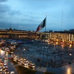 Photo taken at Plaza de la Constitución (Zócalo) by Cesar G. on 6/30/2013