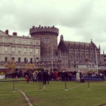 Photo taken at Dublin Castle by Darshan R. on 5/19/2013