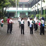 Photo taken at SMP Negeri 11 Bandung by Rian H. on 12/14/2013