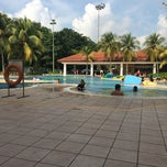 Photo taken at Orchid Country Club Swimming Pool by Shirley Y. on 5/4/2014