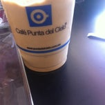 Photo taken at Cafe Punta del Cielo by Mauricio M. on 3/1/2014
