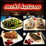 Photo taken at Sushi Katana by Jordan R. on 1/20/2013
