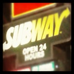 Photo taken at SUBWAY by Kimberlee C. on 12/13/2012